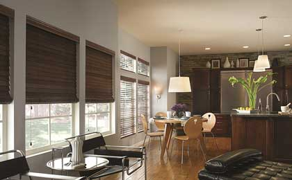 wood blinds boise